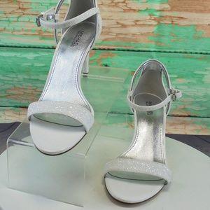 Michael Kors Simone  Glitter Mid Dress Sandal